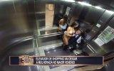 Asansörde Seksi Kamera Şakası