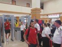 Belhanda'nın Galatasaray Taraftarına Küfür Etmesi