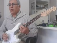 Elektro Gitar Sağlam Ritim Atan Amca
