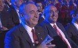 Galatasaray Kura Çekimi Sırasında Mustafa Cengiz ve Abdurrahim Albayrak Sevinci