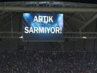 Trabzorspor'dan Galatasaray'a Mesaj