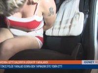 Travestinin Yardıma Giden Polisi Yaralaması