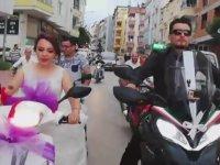 Gurbetçi Çiftin 10 Ülke Geçip Türkiye'de Evlenmesi