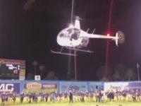 Helikopterden Para Dağıttıran Kulüp Başkanı Brett Lashbrook