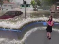 Kasırgayı Yaşayarak Anlatan Haber Bülteni