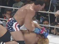 MMA Efsanesi ve Suratı Patatese Dönen Japon Dövüşçü