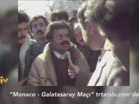 1989 Galatasaray Monaco Çeyrek Finali Öncesi Efendim