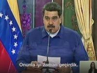 Maduro'nun Nusret'i Öve Öve Bitirememesi