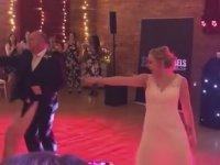 Baba ve Kızından Düğünde Dans