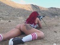 Makineli Tüfeğin Kadın Kalçası Üzerindeki Etkisi