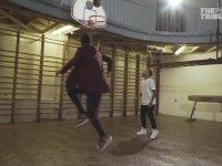 Neymar'ın Stephen Curry'le Basketbol Oynaması