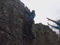 Tırmanırken Az Daha Dev Kayanın Altında Kalıan Eleman