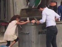 Çöp Toplayan Küçük Kız