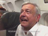 Fakirliğin Olduğu Ülkede Lüks Uçağa Binemem - Meksika Başkanı