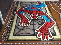36 Bin Domino Taşıyla Yapılan Örümcek Adam