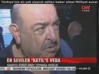 Aykut Oray Cenaze Töreni