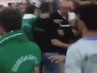 Bursaspor'lu Taraftarların Beşiktaş'lılara Saldırması