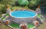 Doğadaki İmkanlarla Yapılan Isıtmalı Yüzme Havuzu