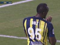 Usain Bolt'un Futbol Kariyerindeki İlk Maçı ve Golleri