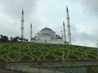 Havadan Görüntülenen Çamlıca Camii'nin Son Hali