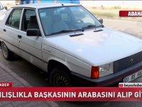 Yanlışlıkla Başkasının Arabasını Alıp Gitmek (Adana)