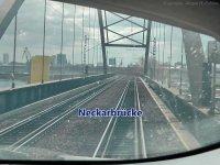 ICE 3 ile Frankfurt Havalimanından  Mannheim´a Hipnotik Yolculuk
