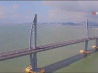 Deniz Köprüsü Hong Kong-Zhuhai-Macau'nun Açılması