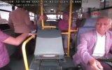 Yumruklu Saldırıya Maruz Kalan Servis Şoförü