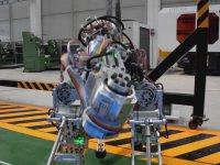 Akınsoft'un Havada Yürüyen 4 Ayaklı Robotu