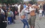 Düğünün Ritmine atılıp Hunharca Dans Eden Çift