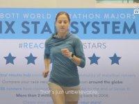 Dünya Rekoru Maraton Hızını Deneyen Koşucular