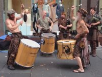 İskoçya Sokak Müzisyenleri - Clanadonia