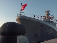 Türkiye'nin 3'üncü Milli Savaş Gemisi TCG Burgazada F-513