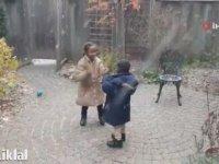 İlk Defa Kar Gören Afrikalı Çocuklar
