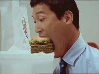Burger King Reklamı - Yılan Gibi Ye