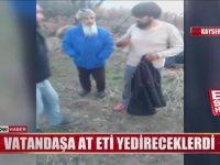 At Keserken Suçüstü Yakalanan Şahıslar - Kayseri