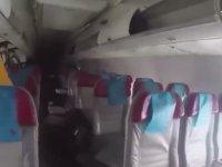 Düşen Uçaktaki Yolcuları Kurtaran Adamlar