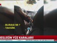 Kılık Değiştiren Muhabire Kırk Türlü Ayak Çeken Taksiciler