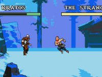 God of War 8 Bit Olsaydı
