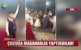 Düğünde Ateş Eden Çocuğu Davetlilerin Alkışlaması