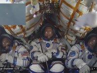 Roket Kapsülü İçinde Uzaya Giden Asronotların Hali