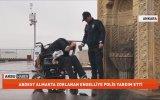 Abdest Almakta Zorlanan Engelliye Polis Yardımı