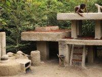 İlkel Aletlerle Antik Villa Evi Yapımı