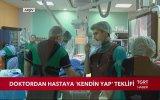Hastasına Cımbız ve Makas Verip Dikişlerini Al Diyen Doktor