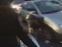 Jeepli ve Öfkeli Karı Koca vs Motovlogcu