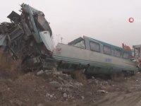 Tren Kazasında Vagonun İçi