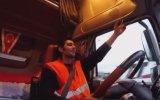 Fransa'da Sarı Yeleklilerin Gazına Gelen Türk Tır Şoförü