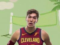 Cedi Osman'ın Cleveland Cavaliers Taraftarlarına Kendini Tanıtması