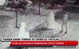 Konya'da Şiddete Maruz Kalan Kardan Adam