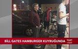 Bill Gates'in Hamburger İçin Kuyrukta Beklemesi